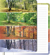 Four Seasons Soft-Cover Journal