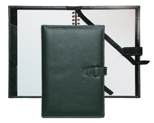 Green Leather Forever Refillable Journals