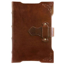 Medieval Leather Latch Journal